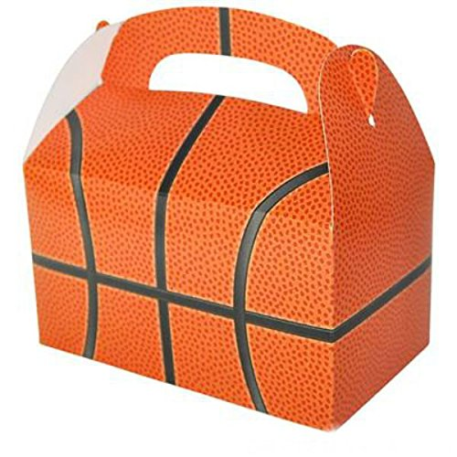 Play Kreative Basketball Gable Treat Box - Pack of 12 - PlayKreative.com
