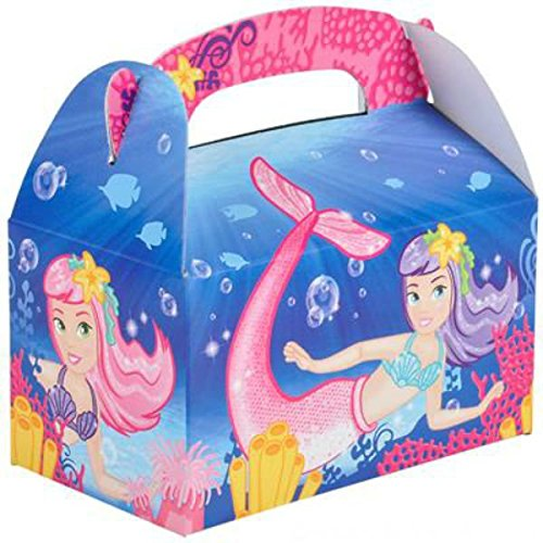 Play Kreative Mermaid Gable Treat Box - Pack of 12 - PlayKreative.com