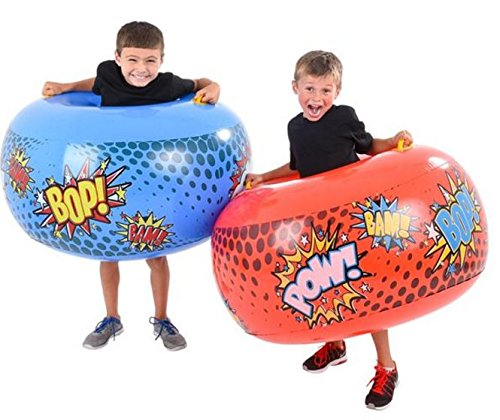 Play Kreative Bump & Bounce Inflatable Body Bumpers For Kids - Sporting Bop Bags - PlayKreative.com