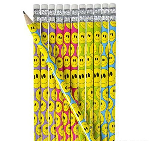 Smiley Wooden Pencil - Play Kreative - PlayKreative.com
