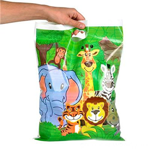 Play Kreative Zoo - Animal -Safari Treat Goody Bags - PlayKreative.com