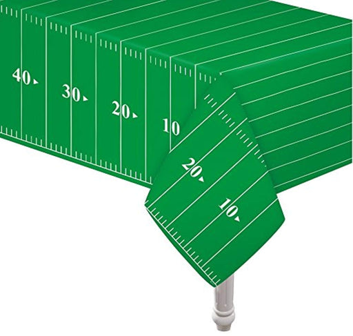 "Football Field Table-cover 54""x78""  - Pack of 3"