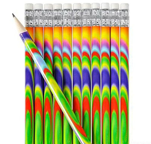Colorful Tie Dye Pencil - Play Kreative TM (Tie Dye) - PlayKreative.com