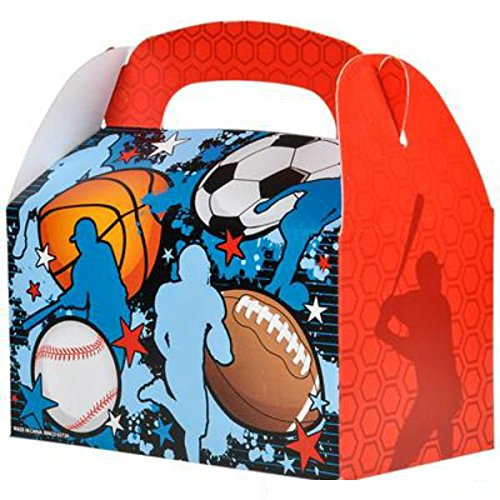 Play Kreative Sports Ball Gable Treat Box - Pack of 12 - PlayKreative.com