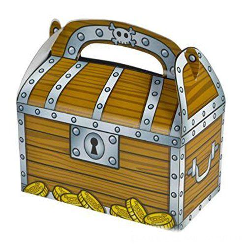 Play Kreative Treasure Chest Gable Treat Box - Pack of 12 - PlayKreative.com