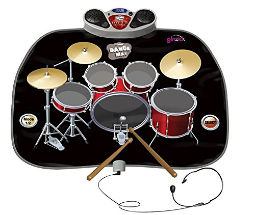 Play Kreative Electronic Drum Kit Set Floor Fun Play Mat - Amazing Gifts for Boy - PlayKreative.com