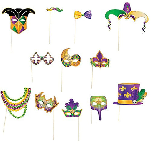 Mardi Gras Photo Booth Props