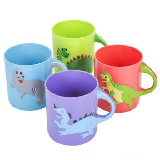 "Dinosaurs Mugs Assorted colors and designs 3"" - Dino Themed Party (1 dz) - Play - PlayKreative.com"