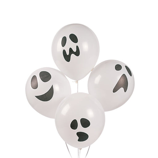 Halloween Ghost Party Balloons - 48 pieces