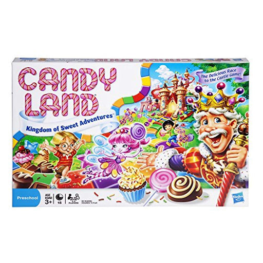 Hasbro Candy Land Kingdom of Sweet Adventures Board Game for Kids Ages 3 a