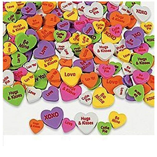 Valentine Self-Adhesive Foam Heart Stickers - 500 Pieces