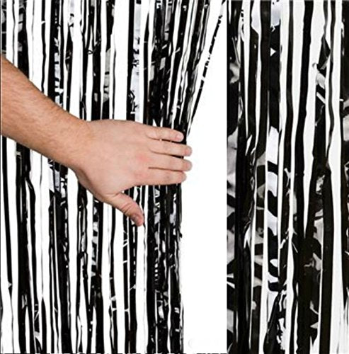 Red Tinsel Foil Fringe Curtain - Play Kreative TM - PlayKreative.com