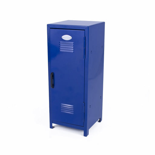 Blue Mini Metal Locker - Childrens Storage - PlayKreative.com