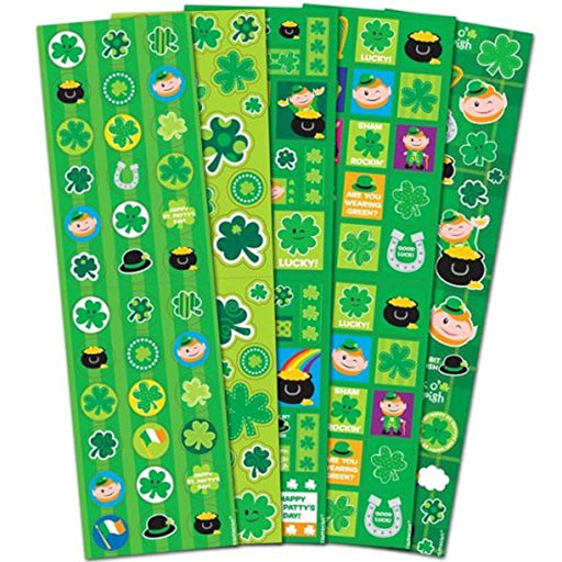 St. Patrick's Day Stickers - Pack of 5 Sticker Sheets