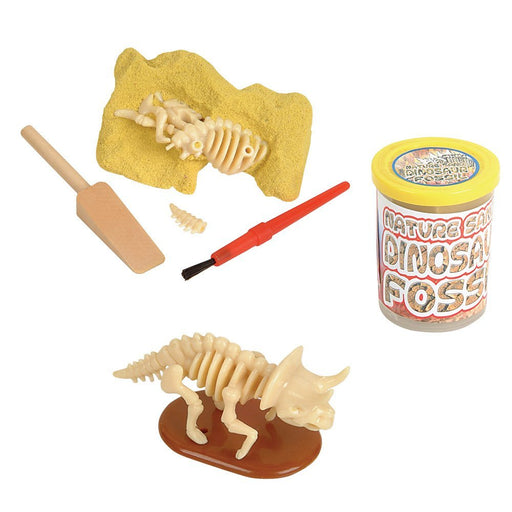 Dinosaur Fossil - Nature Sand Dino Dig Stocking Stuffer - 1pc - PlayKreative.com