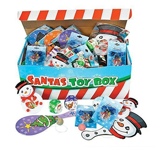 Santa's Toys & Novelty Prize Box Assortment Includes Holiday Theme Toys - PlayKreative.com