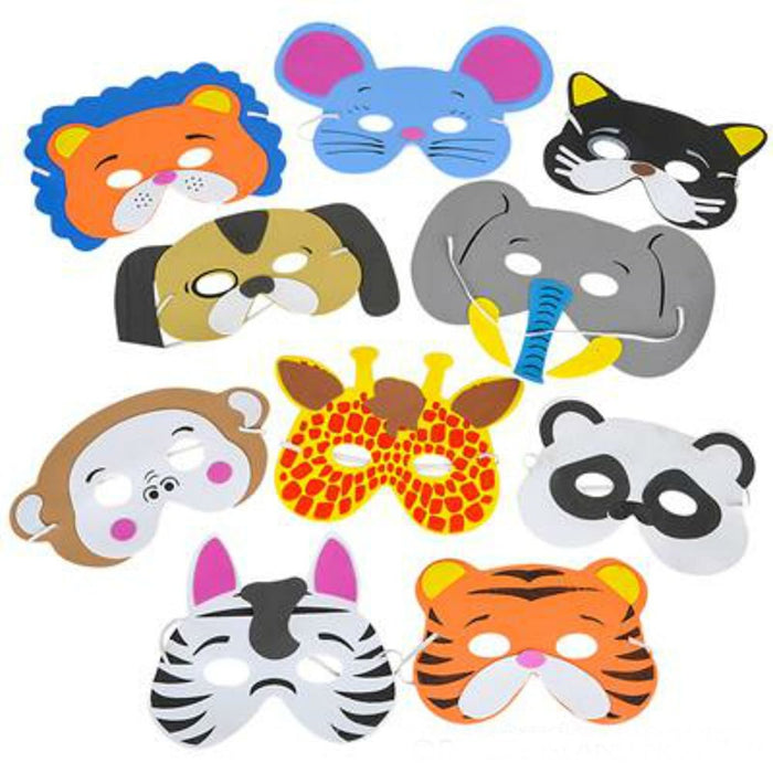 Animal Face Mask - Play Kreative TM (Animal) - PlayKreative.com