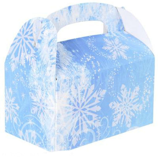 Play Kreative Snowflakes Gable Treat Box - Pack of 12 - PlayKreative.com