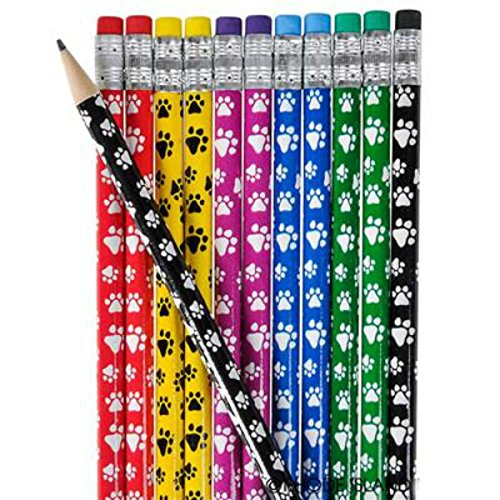 Paw Print Pencils - Play Kreative TM (Paw Print) - PlayKreative.com