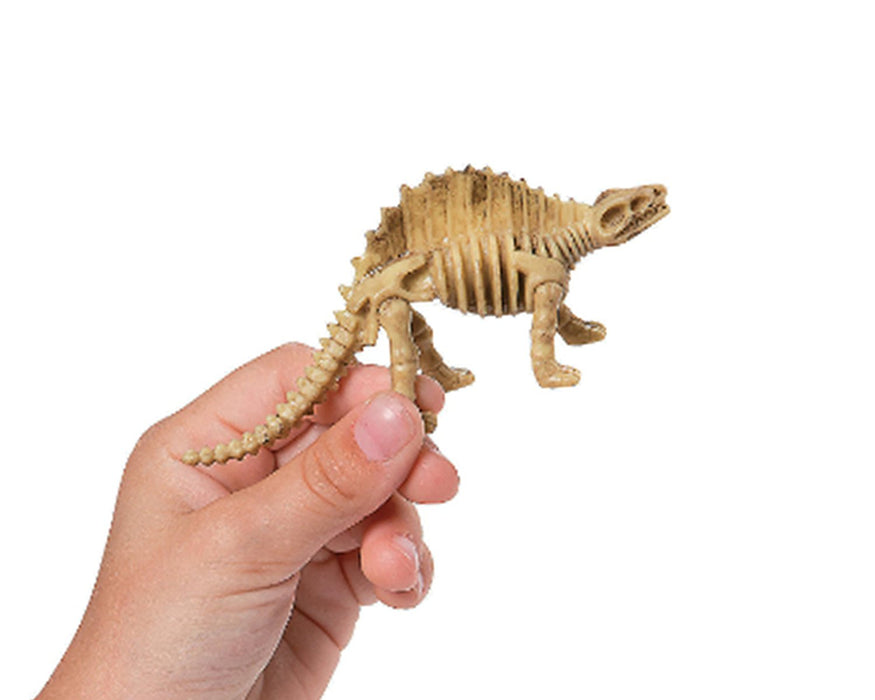 Play Kreative Assorted Dinosaur Fossil Skeleton Figures - Pack of 8 - PlayKreative.com