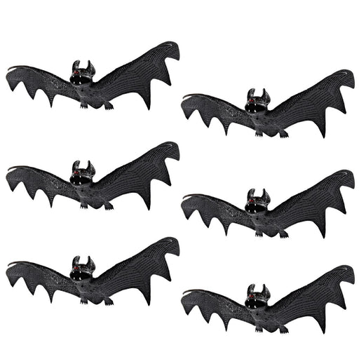 Spooky Hanging Bats for Best Halloween Decoration- Set of 6