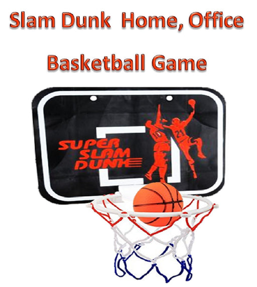 Play Kreative Mini Slam Dunk Basketball hoop for Bedroom, Bathroom, Toilet, Offi - PlayKreative.com
