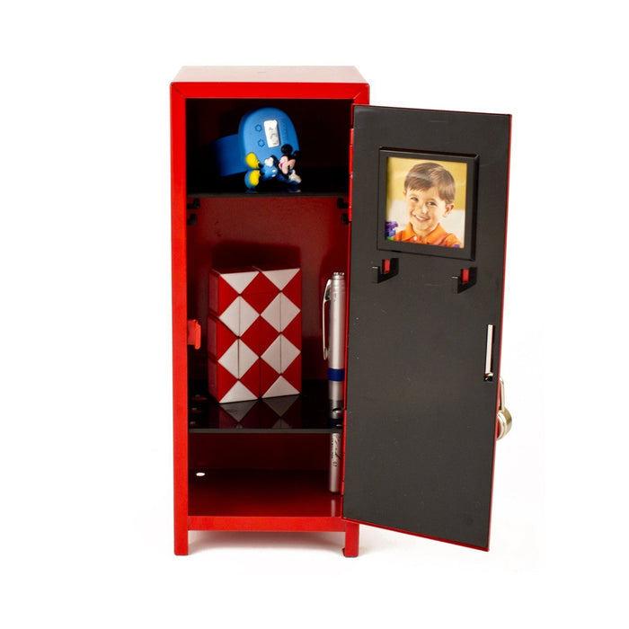 Black Mini Metal Locker - Childrens Storage - PlayKreative.com