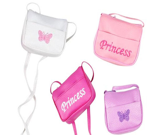 Play Kreative Mini Princess Girl Handbag with Strap. 4 Pack - PlayKreative.com