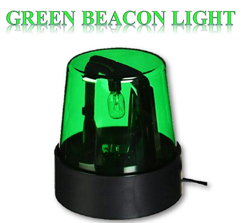 "Play Kreative 7"" Beacon Light (Green) - Green Police Beacon Party Light - PlayKreative.com"