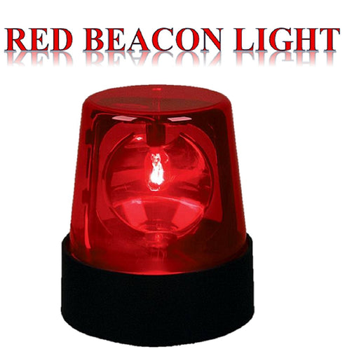 "Play Kreative 7"" Beacon Light (Red) - Red Police Beacon Party Light - PlayKreative.com"