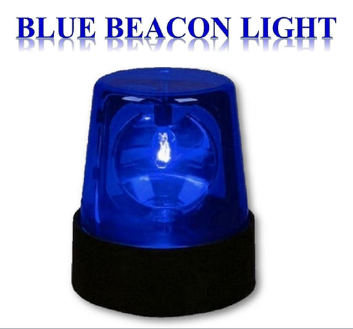 Blue Beacon Light - 7 inch Blue Police  Party Light Play kreative - PlayKreative.com