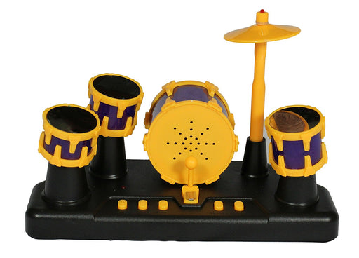 Musical Kids Percussion Instrument Finger Touch Electronic Drum Set with Lights - PlayKreative.com