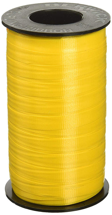 Pastel Yellow Curling Ribbon For all Occasions - Great for Balloons, Gifts, Deco