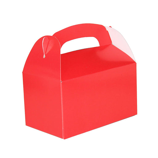 Play Kreative Red Gable Treat Box - Pack of 12 - PlayKreative.com