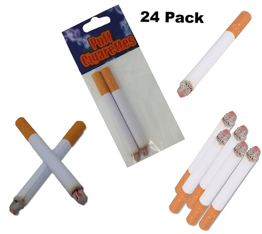 Play Kreative Fake Puff Cigarettes - Set of 24 Puff Cigarettes for Prank, joke o - PlayKreative.com