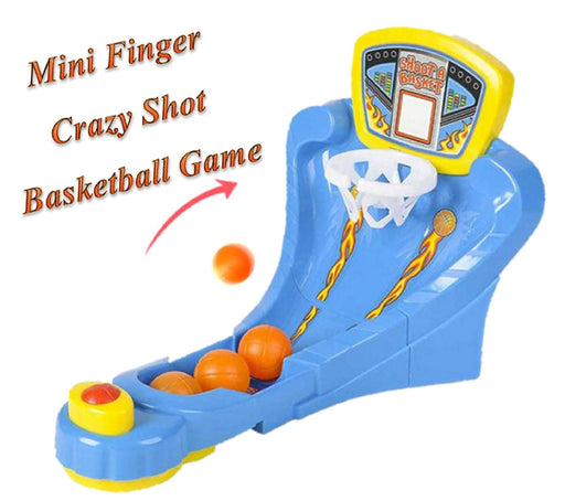Play Kreative Crazy Shot Finger Basketball Shooting Game - Flick Desktop Basketb - PlayKreative.com