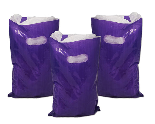 Treat / Goody Plastic Bags ~ Party Favor (Package of 50) (Purple) - PlayKreative.com