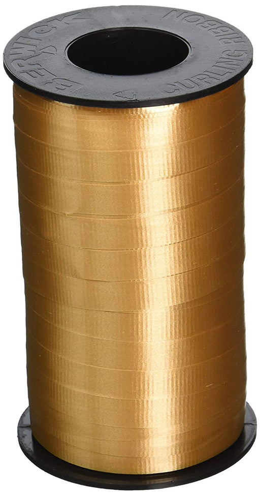 Gold Curling Ribbon For all Occasions - Great for Balloons, Gifts, Decorating an
