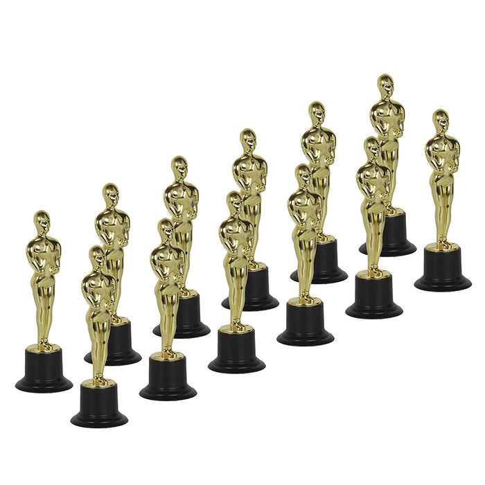 "Play Kreative 6"" Gold Award Statue Trophy for Sports Party Favors - PlayKreative.com"