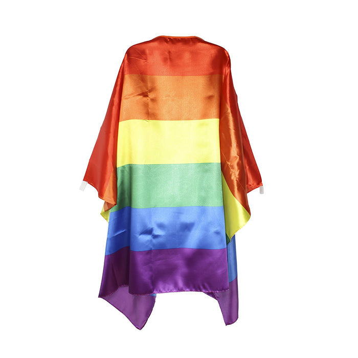 "Play Kreative Rainbow LGBT Flag Cape - 40"" X 60"" - PlayKreative.com"