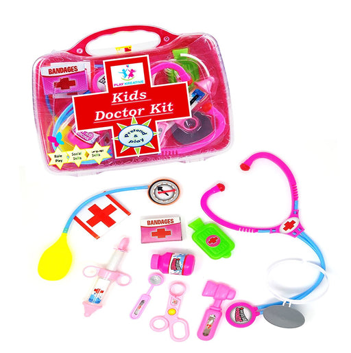 Play Kreative Kids Doctor Set - Pretend and Play Medical Toys with Carry Case - - PlayKreative.com