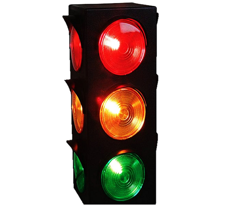 Play Kreative Light Up Traffic Stop Lamp - For Traffic Decorations, Celebrations - PlayKreative.com