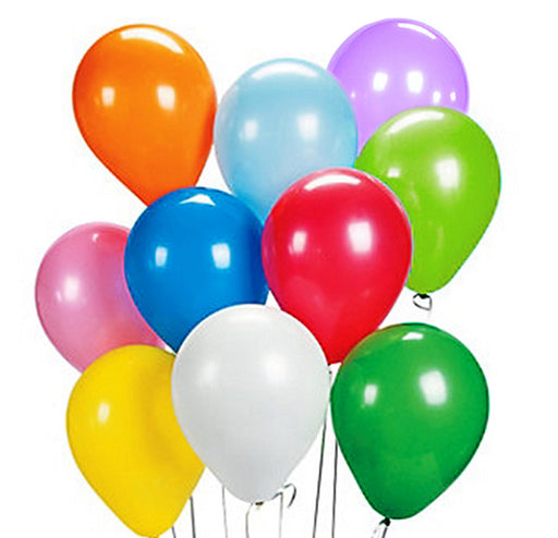 "Play Kreative Colorful Latex Balloons - Pack of 48 Bright Colored 9"" Balloons fo - PlayKreative.com"