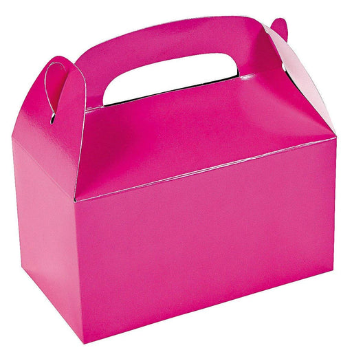 Hot Pink Gable Treat Box - Pack of 12