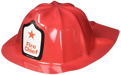 Red Firefighter Hat - 12pk - Play Kreative - PlayKreative.com