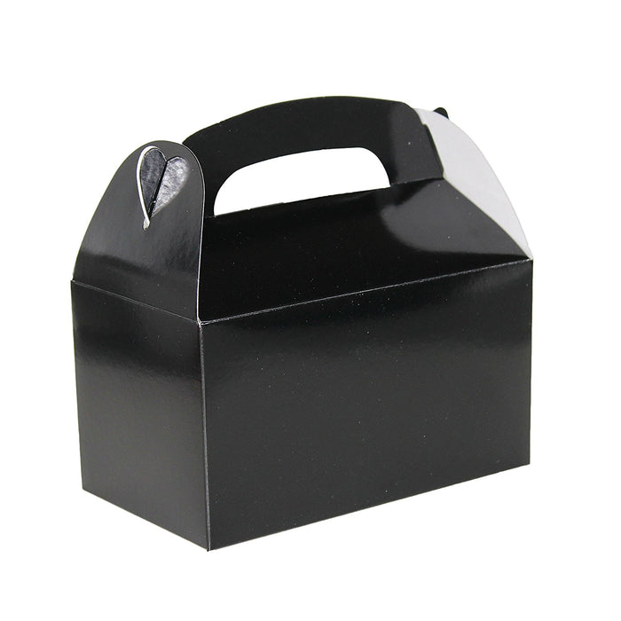 Play Kreative Black Gable Treat Box - Pack of 12 - PlayKreative.com