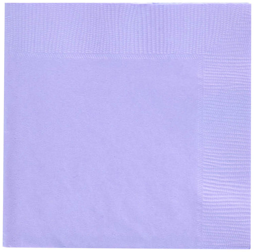 Lavender Beverage Napkins -  Pack of 50