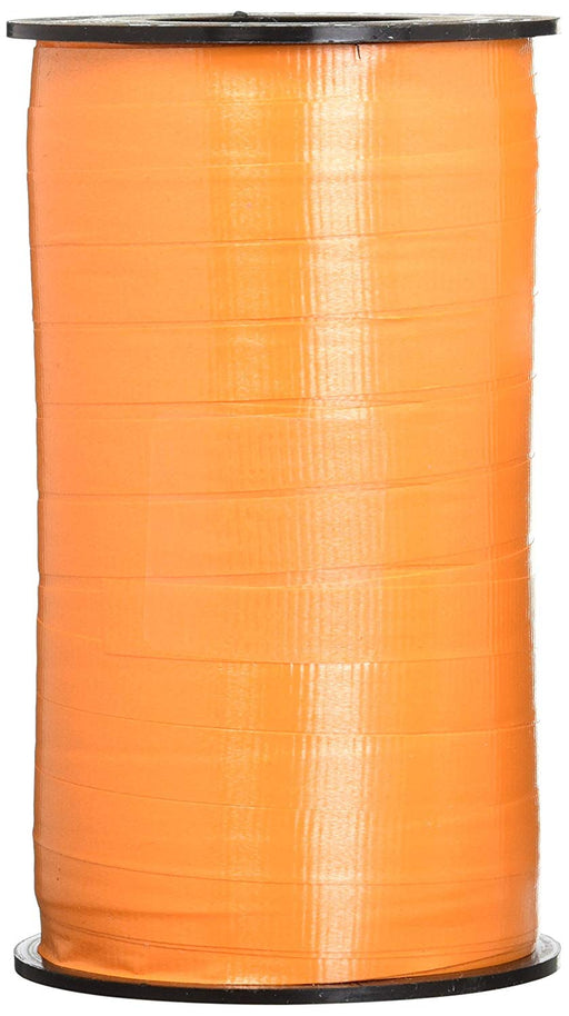 Tropical Orange Curling Ribbon For all Occasions - Great for Balloons, Gifts, De