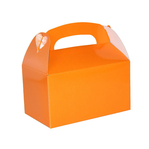 Play Kreative Orange Gable Treat Box - Pack of 12 - PlayKreative.com