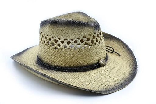 Straw Cowboy Cowgirl Costume Hat - Play Kreative - PlayKreative.com